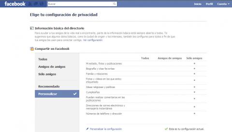Facebook rediseña la privacidad y forma a sus usuarios