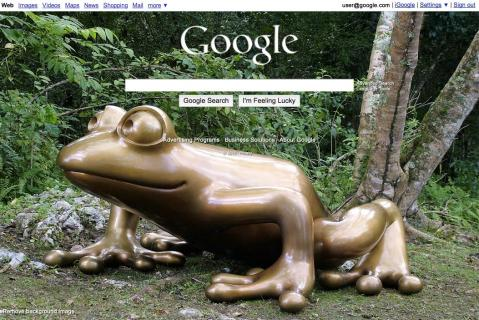 También será posible usar imágenes de fondo en Google
