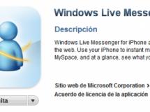 Disponible en la App Store el cliente oficial de Windows Live Messenger
