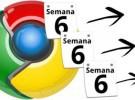 Cada 6 semanas habrá una nueva versión estable de Chrome