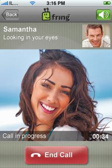 Fring ofrece videollamadas por 3G en el iPhone 4