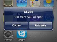 Skype para iOS se actualiza: por fín toma algunas de las ventajas de iOS 4