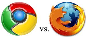 Chrome vs. Firefox según mi experiencia