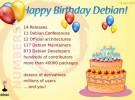 Debian cumple 17 años