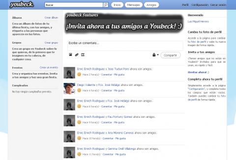 Youbeck, una red social en la que lo importante es la privacidad