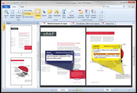 Nitro PDF Reader, una poderosa alternativa al Adobe Reader