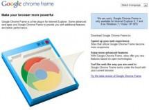 Lanzada versión estable de Google Chrome Frame