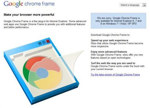 Google Chrome Frame