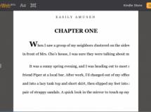 Kindle ahora también en versión Web