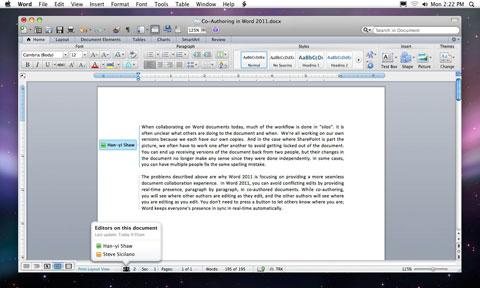 Microsoft Office 2011 para Mac llega a las tiendas este 26 de octubre