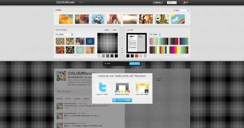 Diseña tu propio fondo de menú en Twitter con Themeleon