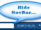 Ocultar la barra de navegación en las nuevas plantillas de Blogger