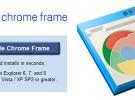 Google Chrome Frame convierte a Internet Explorer en Chrome
