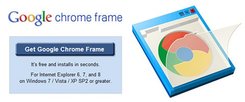 Google Chrome Frame convierte a Internet Explorer en Chrome