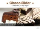 Choco-Slider, interesantes slides jQuery