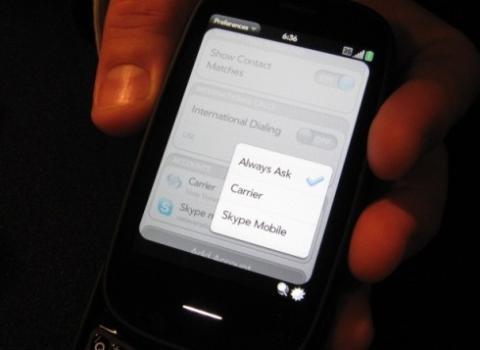 Skype_webOS