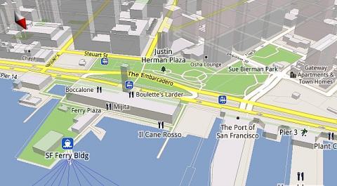 Google Maps 5 para móviles ahora con imágenes dinámicas y modo desconectado