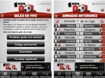 MovilGol, todos los goles de la Liga en tu teléfono móvil
