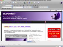BlueGriffon: un editor de HTML5 y CSS3 basado en Firefox 4