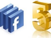 Facebook potenciará su soporte para HTML5 en sus versiones de móvil