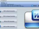 Descarga PDFZilla (herramienta para convertir PDF a formatos editables) gratis