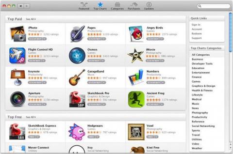 Ya está aquí el Mac App Store con más de 1000 aplicaciones disponibles