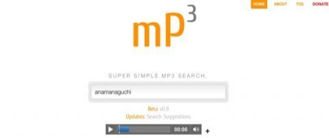 Mppp.it, para buscar música en MP3