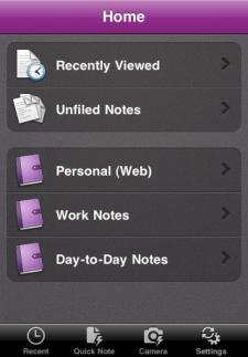 Microsoft OneNote ya disponible para iOS
