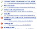 El problema de Hotmail fue causado por el mal funcionamiento de una prueba