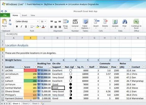 Microsoft Office Web Apps estará disponible en otros 150 países para el próximo mes