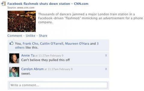 """La opción """"Me gusta"""" podría reemplazar la opción """"Compartir"""" en Facebook"""