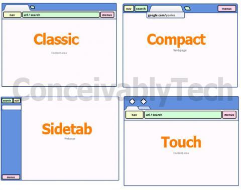 Google planea cambiar la interfaz de Chrome