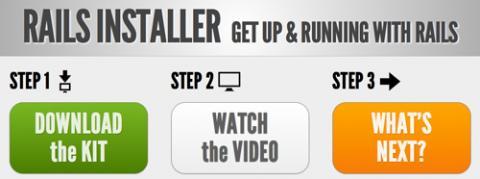 Rails Installer, Rails a tiro de clic