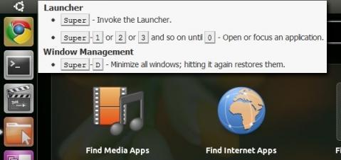 Los atajos de teclado de Ubuntu 11.04 serán como los de Windows