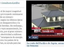 La búsqueda de resultados sobre el terremoto en Japón puede exponernos al malware