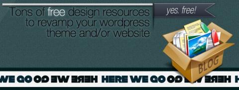 WordPressThemeShock, una colección de recursos de gran calidad para diseñadores web