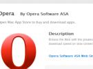 Opera hace su aparición en la Mac App Store, aunque no se sabe cuánto durará