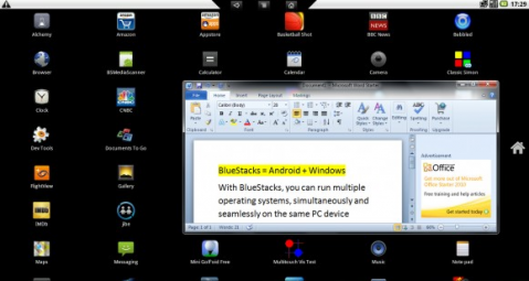 BlueStacks, o cómo ejecutar aplicaciones para Android sobre Windows
