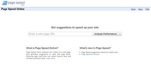 Page Speed estrena versión online