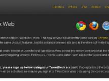 TweetDeck amplía sus horizontes a la web