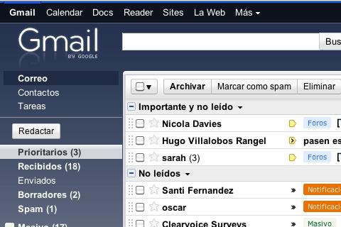 Google Chrome dice adiós al servicio offline de Gmail