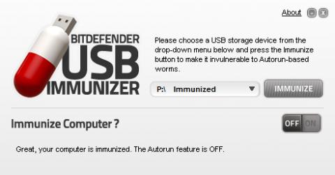USB Immunizer, o cómo evitar que tus USB sean infectados