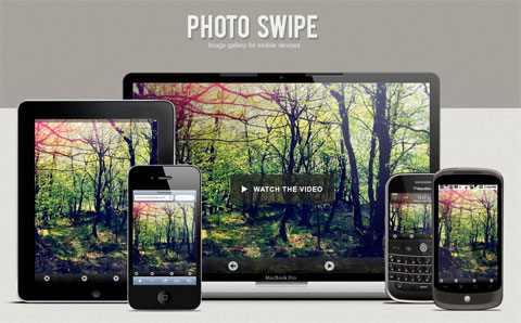 PhotoSwipe, una galería de imagenes para cualquier dispositivo