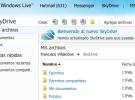 SkyDrive se actualiza a HTML5