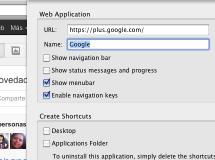 WebRunner, o cómo crear aplicaciones de escritorio a partir de páginas web