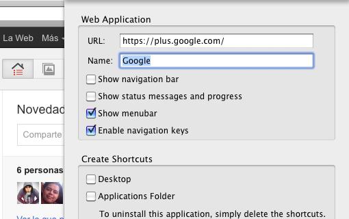 Crea aplicaciones de escritorio con WebRunner
