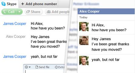 Skype 5.5 ahora más integrado con Facebook