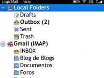 LogicMail, un cliente de correo libre para BlackBerry