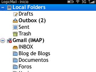 LogicMail: cliente de correo libre para BlackBerry