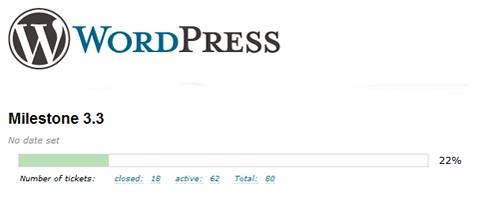 WordPress 3.3 confirma su hoja de ruta